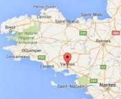 Localiser le centre d'affaires Vannes