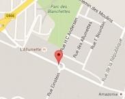 Localiser le centre d'affaires Mâcon