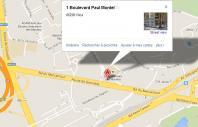 Localiser le centre d'affaires Nice