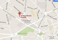 Localiser le centre d'affaires Limoges