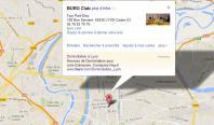 Localiser le centre d'affaires Lyon