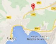 Localiser le centre d'affaires Ajaccio