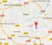 Localiser le centre d'affaires Caen sud