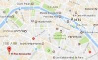 Localiser le centre d'affaires Paris 15