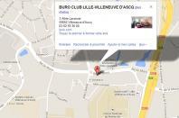 Localiser le centre d'affaires Lille Villeneuve d'Ascq