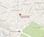 Localiser le centre d'affaires Paris Rond-Point des Champs Elysées