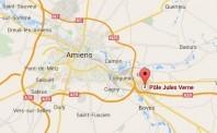 Localiser le centre d'affaires Amiens Est