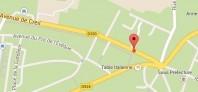 Localiser le centre d'affaires Senlis