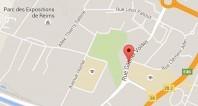 Localiser le centre d'affaires Reims