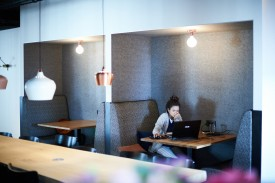 Un espace de travail communauté et networking à bruxelles